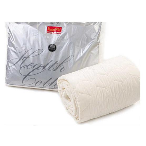 Slumberland Bed Protector ขนาด 3.5 ฟุต ผ้ารองกันเปื้อนรัดมุมกันไรฝุ่น (107PSD36)