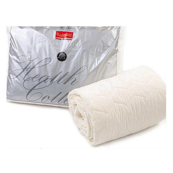 Slumberland Bed Protector ขนาด 6 ฟุต ผ้ารองกันเปื้อนรัดมุมกันไรฝุ่น (107PSD60)