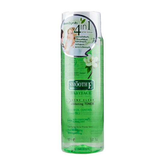 Smooth E Acne Clear Whitening Toner 150ml
