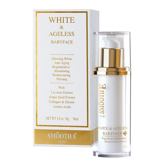 Smooth E Gold White & Ageless Babyface Cream 30 g.