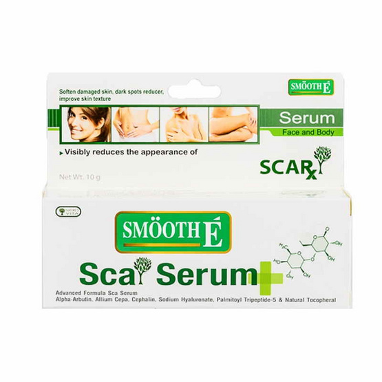 Smooth E Scar Serum Face&Body 10g