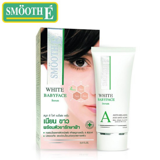 Smooth E WHITE BABYFACE SERUM 0.8oz