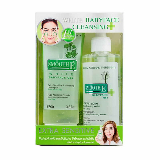 Smooth E White Gel&SmoothECleansing Water