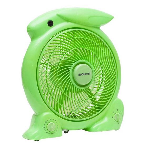 Sonar พัดลม แฟนซีกระต่าย ขนาด 10 นิ้ว รุ่น EF-B181 สีเขียว