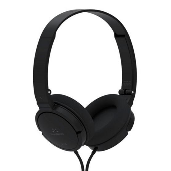 SoundMagic หูฟัง รุ่น เฮดโฟนแบบพกพา มีไมค์ในตัว (P11S) Black