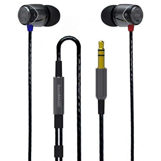 Soundmagic หูฟัง รุ่น หูฟังอินเอียร์ (E10) Black