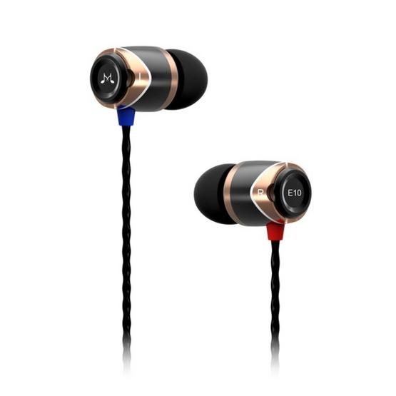 Soundmagic หูฟัง รุ่น หูฟังอินเอียร์ (E10) Gold
