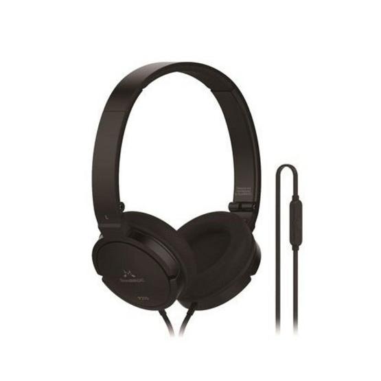 Soundmagic หูฟัง รุ่น Headphone Portable มีไมค์ในตัว (P21S) Black