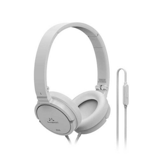 Soundmagic หูฟัง รุ่น Headphone Portable มีไมค์ในตัว (P21S) White