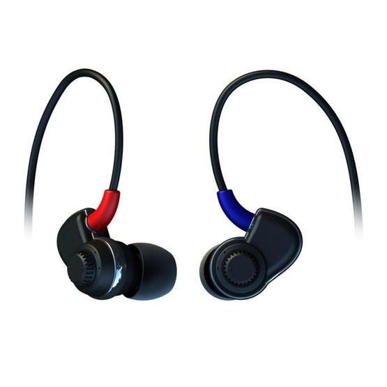 Soundmagic หูฟัง รุ่น In-Ear Adjustable Bass (PL30) Black