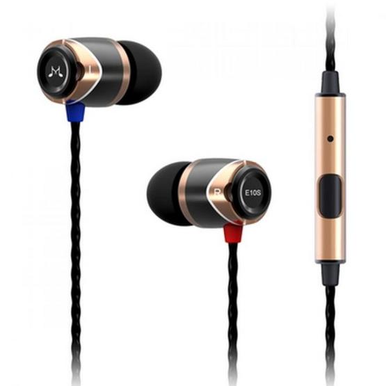 Soundmagic หูฟัง รุ่น In-Ear Hifi Award มีไมค์ในตัว (E10M) Gold