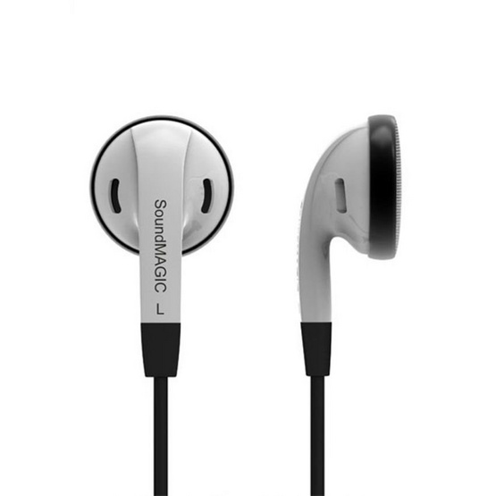 Soundmagic หูฟัง รุ่น In-Ear Powerful Bass (EP20) White