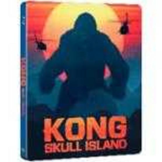 ซื้อ Steelbook 3D+2D คอง มหาภัยเกาะกระโหลก/ Kong: Skull Island 3D+2D Steelbook
