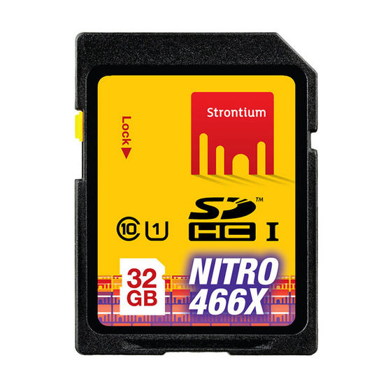 Strontium Nitro USH-1 SD Card Class10 32 GB 466X Speed (70Mb/S)