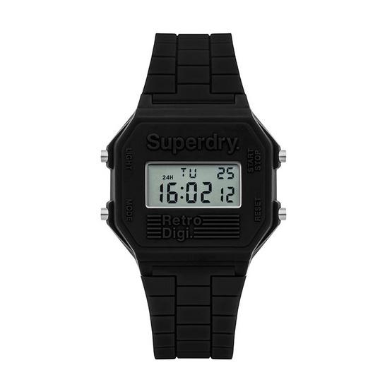 Superdry นาฬิกาข้อมือ รุ่น Retro Digi XL SYG201B
