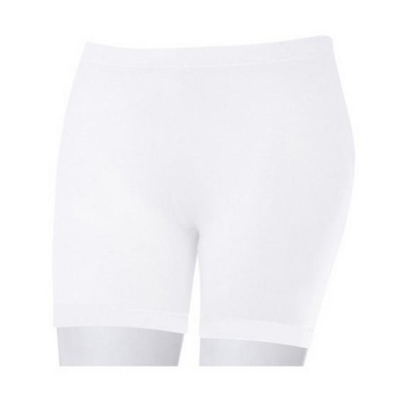 Swans กางเกงหญิงขาสั้นขาว