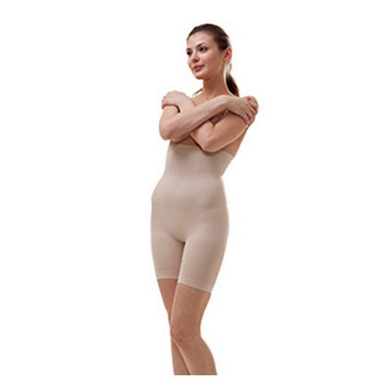 Swans กางเกงเอวสูงกระชับสัดส่วน-เนื้อ L/XL