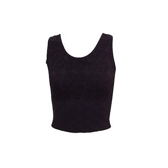 Swans เสื้อกล้ามกระชับหน้าท้อง Rose Belly Belt Top Free Size สีดำ