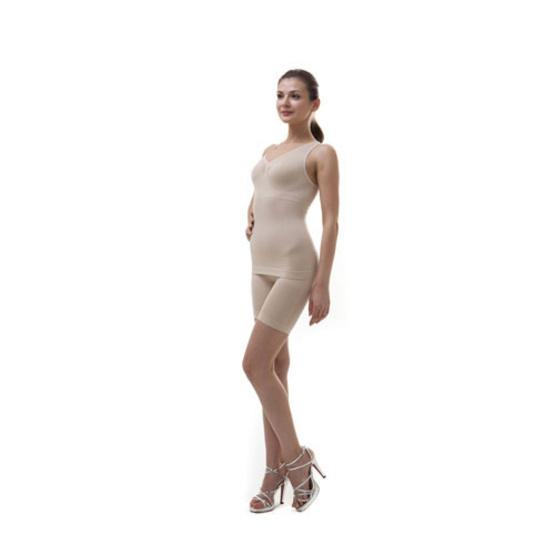 Swans เสื้อกล้ามกระชับสัดส่วน Taping Top Size L-XL สีเนื้อ