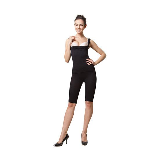 Swans Volum Up เสื้อกล้ามกระชับสัดส่วน (ดันทรง) สีดำ