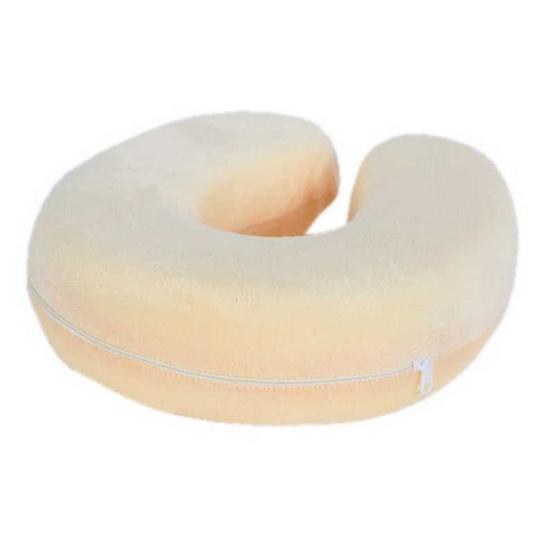 Syndex Cream U-Shape หมอนรองคอ Memory Foam Pillow