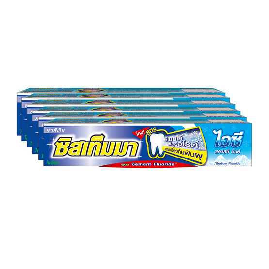Systema Toothpaste 90g # Icy Squeesy Mint Pack6
