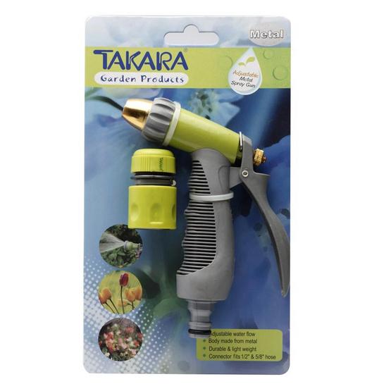 TAKARA DGT2009 ปืนฉีดน้ำทาการ่า(เหล็ก)ปรับรูปแบบน้ำได้