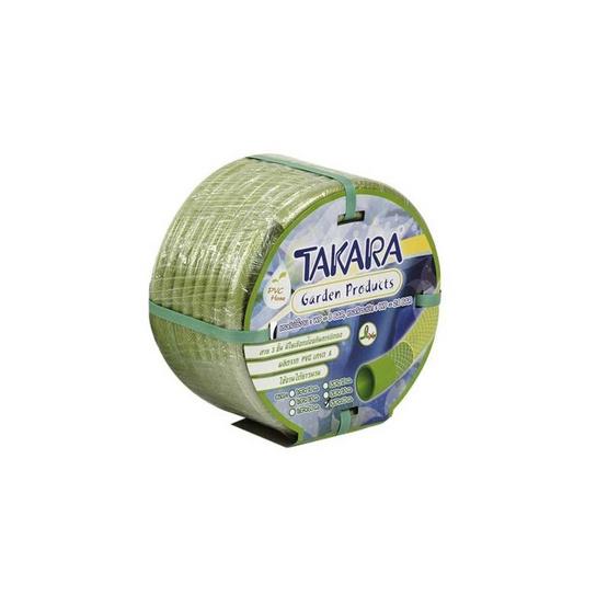 TAKARA DGTI510 สายพีวีซีใยเชือกสีเขียว TAKARA 5/8