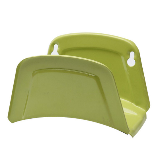 TAKARA DTH001 ที่แขวนสายติดผนัง(เหล็ก) สีเขียว