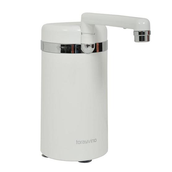 TORAY เครื่องกรองน้ำ VINO SW5-EG [COUTER TOP]  1.3  kg สีขาว