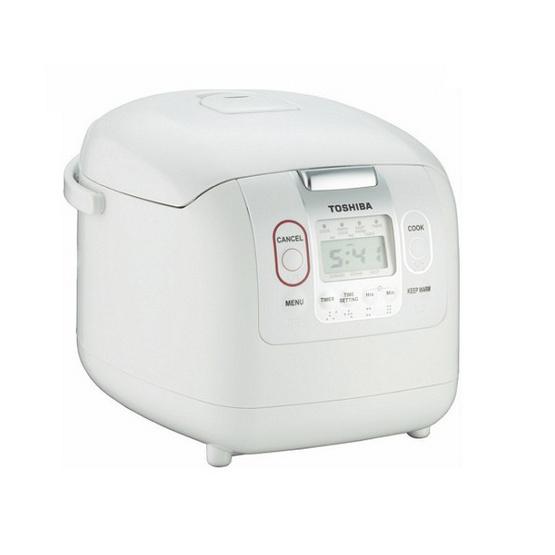 TOSHIBA หม้อหุงข้าวดิจิตอล 1 ลิตร RC-10MM(WT)A - White