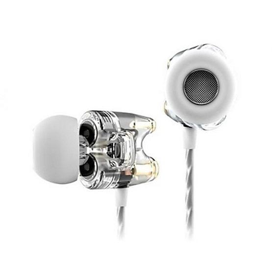 TTPOD หูฟัง รุ่น In Ear หูฟังแบบสอดหู 2 ไดรเวอร์ (T1) Clear