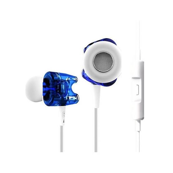 TTPOD หูฟัง รุ่น หูฟังอินเอียร์มีไมค์ (T1S) Blue