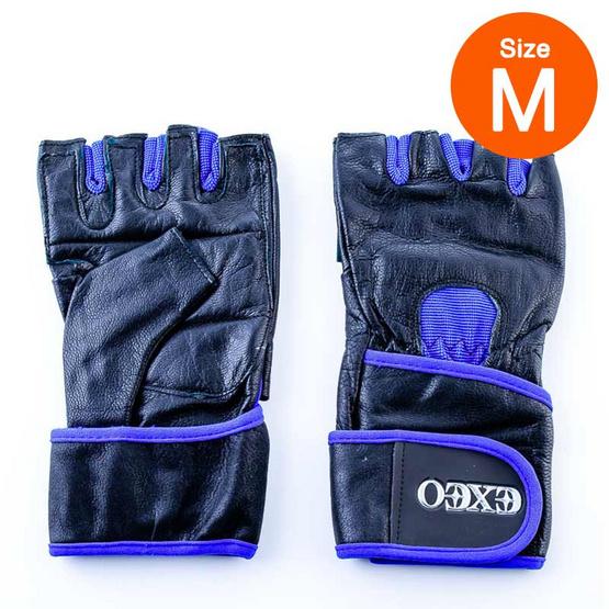 Thai Sports ถุงมือยกน้ำหนัก หนัง CG-17053 ROYAL BLUE/BLACK ไซส์ M รหัสสินค้า E3XT1101M