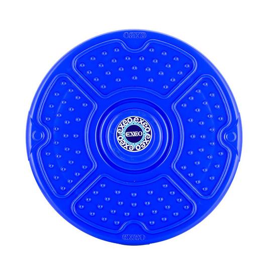 Thai Sports จานทวิสต์ เอ็กซิโอ (Disco Twister) ขนาด 12 นิ้ว ปุ่มดอกไม้ สีน้ำเงิน รหัสสินค้า E3X4T105BL