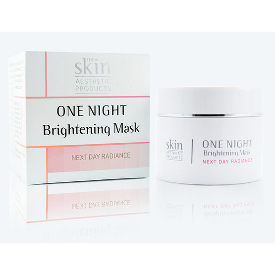 The skin One night brightening mask 25ml.