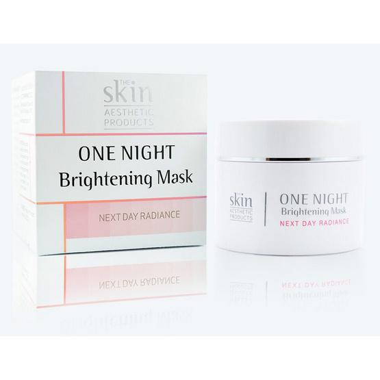 The skin One night brightening mask 25ml.