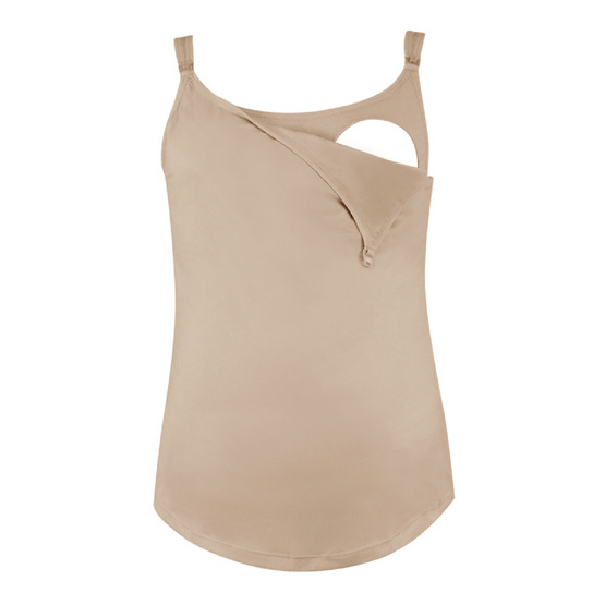Threeangels Maternity Camisoles AT12-182C-NUDE-L