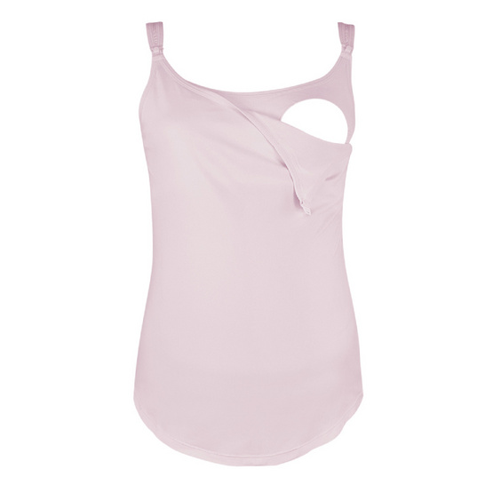 Threeangels Maternity Camisoles AT12-182C-PINK-L