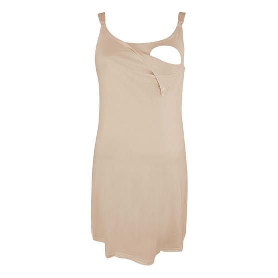 Threeangels Maternity Night Dress AT13-341D-NUDE-M