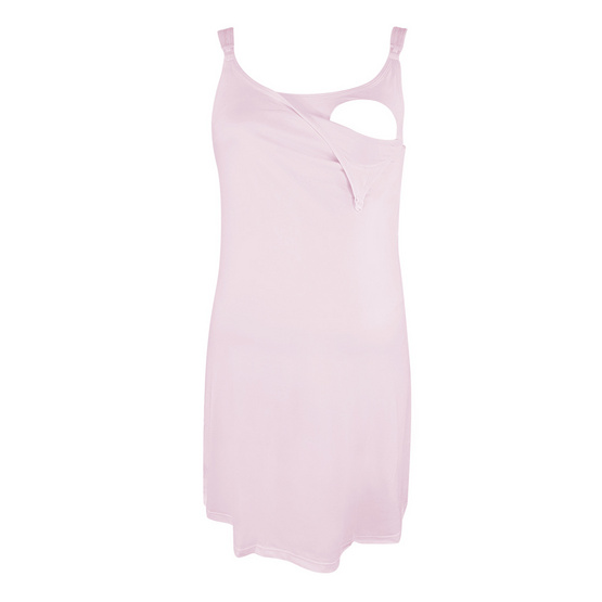 Threeangels Maternity Night Dress AT13-341D-PINK-L