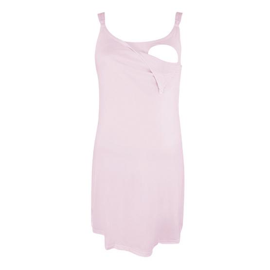 Threeangels Maternity Night Dress AT13-341D-PINK-S