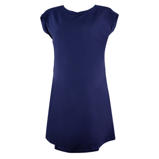 Threeangels Matrenity Dress AT15-355T-NAVY-L