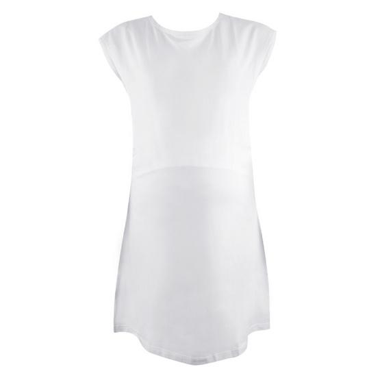 Threeangels Matrenity Dress AT15-355T-WHITE-L