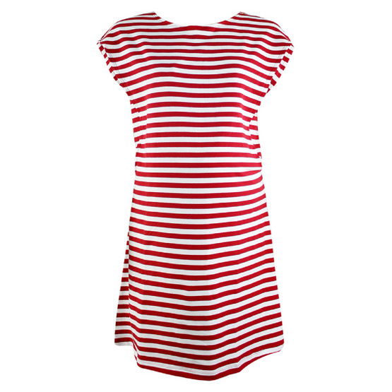 Threeangels Matrenity Dress AT15-368T-RED/WHITE-L