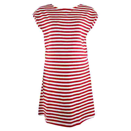 Threeangels Matrenity Dress AT15-368T-RED/WHITE-M