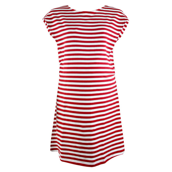 Threeangels Matrenity Dress AT15-368T-RED/WHITE-XL