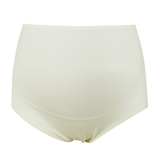 Threeangels Matrenity High Waisted Briefs AT12-110U/1-CREAM-L