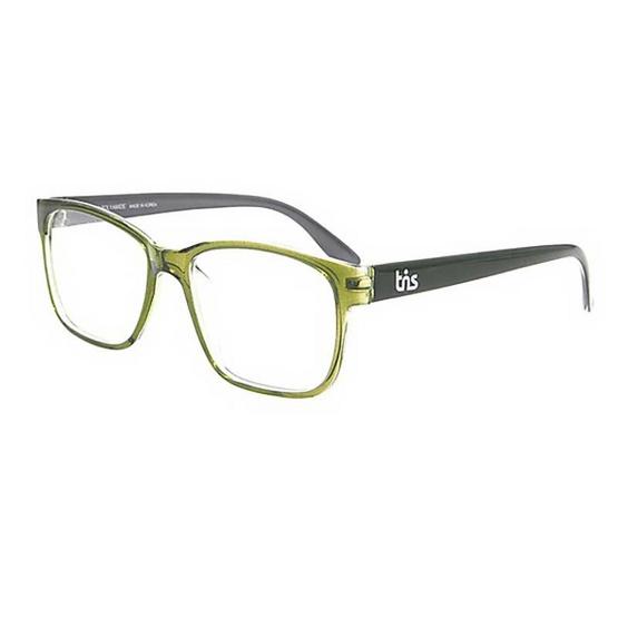 TiS กรอบแว่นตา รุ่น SN206-4 สีเขียวเข้มใส