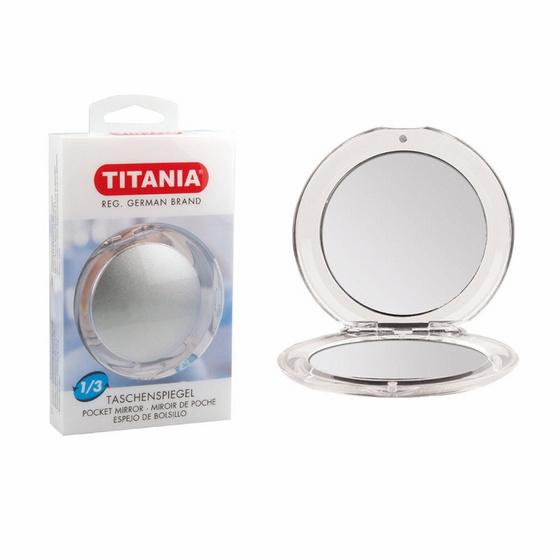 ราคาส่ง !! Titania Pocket Mirror, Folding pocket mirror, plain and 3-fold - Titania, ผลิตภัณฑ์ความงาม